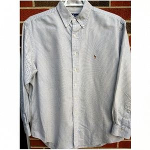 Other - Polo by Ralph Lauren Men's XL striped button down